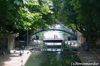 『夏日』なパリのサンマルタン運河さんぽ - パリときどきバブー  from Paris France