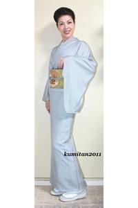 今日の着物コーディネート♪(2017.5.25)~紗袷着物&アンティーク袋帯編~ - 着物、ときどきチロ美&チャ美。。。お誂えもリサイクルも♪