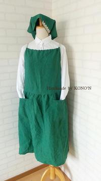 エプロン+ワンピース - 子ども服と大人服 KONO'N