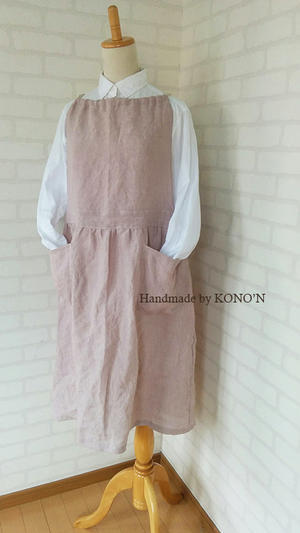 エプロン+ワンピース - 子ども服と大人服KONO'N
