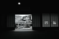 青葉月 寫誌 ㉕ 脇本陣「宝の間」をモノクロで撮る - le fotografie di digit@l