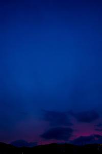 淋しい夕空。。。 - Omoブログ