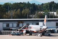 NRT - 14 - fun time (飛行機と空)