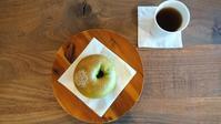 抹茶&あんこベーグルでおやつタイム。 - 奈良県パン教室『パンといろいろ…。』
