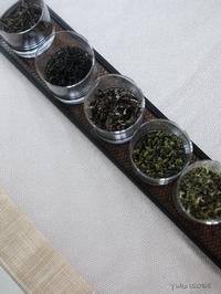中国茶5種のみ比べ - お茶をどうぞ♪