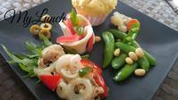私のブランチワンプレート - 料理研究家ブログ行長万里  日本全国 美味しい話