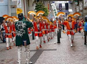 仙台市中央通り「仙台すずめ踊り流し」 - フォトハウス in 福島