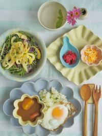 カレーごはん - 陶器通販・益子焼 雑貨手作り陶器のサイトショップ 木のねのブログ