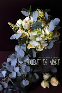 FLOWER #46 ブーケ・ド・マリエ*スプレーバラに葉牡丹 - フォトジェニックな日々