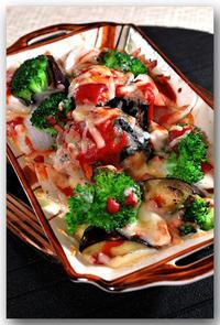 メシ通『魚介を使った簡単レシピ ☆ さばの水煮缶でトマトソースチーズ焼き - 魚屋三代目日記