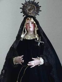 涙を流す悲しみの聖母マリア像   /403 - Glicinia 古道具店