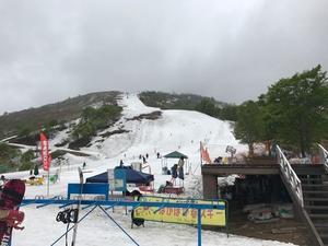 2017年5月26日 かぐらの様子 - スノーボードが大好きっ!!~ snow life in 2016/2017~