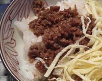 牛肉のそぼろ - シアワセ色のテーブル