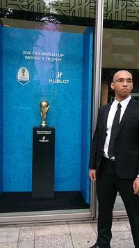 2018ロシアW杯優勝トロフィー - ひろきちのあほ~ん代表