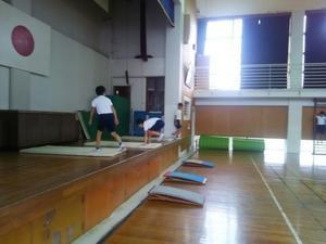 5月26日 体操練習 - 大好き 西条小学校