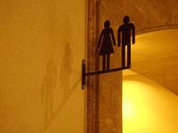 トイレの表示(20) ~ シルエット ~ - ご無沙汰写真館