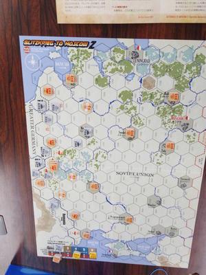 YSGA第335回定例会の様子その7(CMJ/Bonsai)モスクワ電撃戦2 - YSGA(横浜シミュレーションゲーム協会) 例会報告