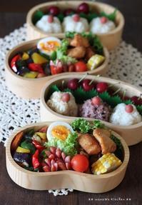 スーパー猛暑?(´・ω・`;) ✿ bento&晩ご飯(๑¯﹃¯๑)♪ - **  mana's Kitchen **