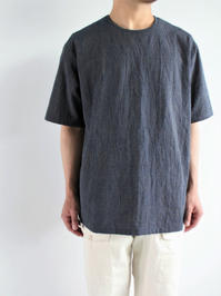THE HINOKI 備後節織 Stripe Pull Over S/S Shirt - 『Bumpkins putting on airs』