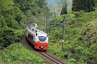 藤田八束の鉄道写真@青森で素敵な写真スポットを発見・・・青森、鶴ヶ坂山本に素晴らしい写真スポット発見、貨物列車の写真 - 藤田八束の日記