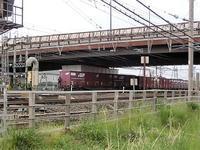 藤田八束の鉄道写真@新緑の青森東青森貨物ターミナルで貨物列車の写真を撮る - 藤田八束の日記