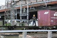 藤田八束の鉄道写真@ 東青森貨物ターミナルにて貨物列車「金太郎」に逢う・・・青い森鉄道を走る貨物列車「金太郎」 - 藤田八束の日記