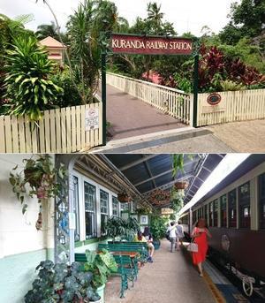 2017 オーストラリア旅行? キュランダ鉄道 - turnaround point