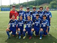 県女子サッカーリーグ 2部リーグ第2節 - 横浜ウインズ U15・レディース