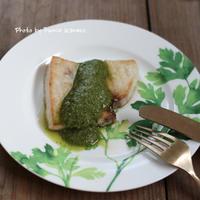 ふみえ食堂のとっておきレシピ  Vol. 165 メカジキのパクチーソース - ふみえ食堂  - a table to be full of happiness -