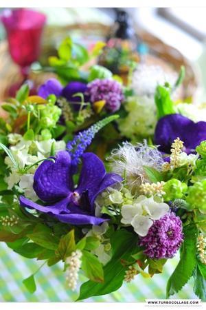 flower wreath? - 白いうさぎ