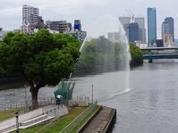 中之島の噴水と@御堂筋、道頓堀 - てんてまり@Up.town