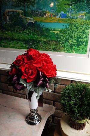 社長就任祝いのアレンジメント - 盛岡・FEJスクール&ショップ♡ブーケの北の花籠