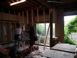 外壁杉板 - small space・・・小さな白い家・・・