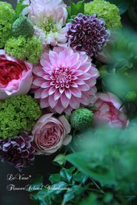 5月最後のレッスン - Le vase*  diary 横浜元町の花教室