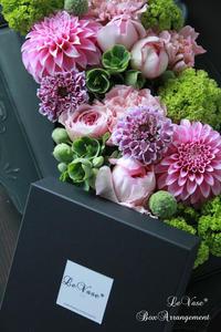 ピンクイブピアッチェ - Le vase*  diary 横浜元町の花教室