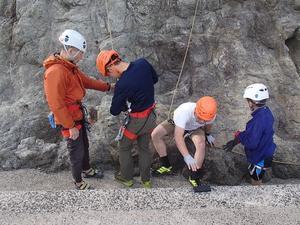 岩登り教室 - アウトドア菊信の世界