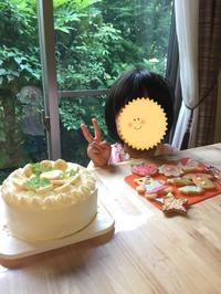 バナナショートケーキレッスン2 - 調布の小さな手作りお菓子・パン教室 アトリエタルトタタン