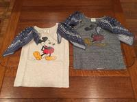 "DENIM DUNGAREE×MICKEY  ""テンジク MICKEY フリフリ TEE""  【NO,3772455】 - LOB SHOP"