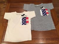"DENIM DUNGAREE×MICKEY  ""テンジク MICKEY ポケット AMERICA TEE""  【NO,3772453】 - LOB SHOP"