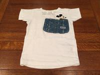 "DENIM DUNGAREE×MICKEY  ""ビンテージテンジク MICKEY ポケット TEE""  【NO,3772454】 - LOB SHOP"