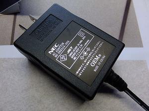 Wi-Fi ルーター不調ACアダプタ修理 - 青いそらの下で・・・