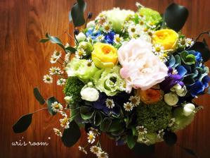 わが家のダイニングを彩る美しいお花と、スーモマガジン掲載のお知らせ! - uri's room* 心地よくて美味しい暮らし