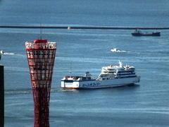 """5月27日(土)、神戸港第4突堤に客船""""DIAMOND PRINCESS""""が入りました - フォトカフェ情報"""