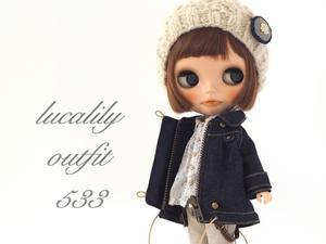 ** Blythe outfit ** Lucalily 533** - mahounote.
