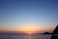 天草の夕暮れ(5月)(その1)。 - 青い海と空を追いかけて。