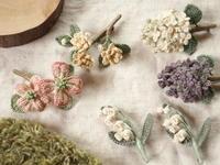 春から初夏の花コサージュ販売のお知らせ - Chi・Chiのてしごと日和