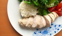なんちゃって海南鶏飯 - ロンドンの食卓
