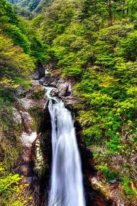 秋保の大滝 - 風の香に誘われて 風景のふぉと缶