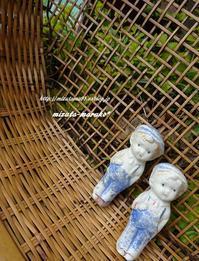 古道具・・・ - 水玉模様のワンピース