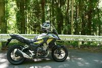 400X納車 - マーチとバイク
